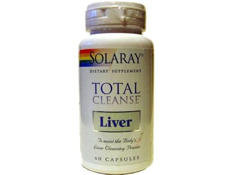 Total Detox And Liver Clease by Solaray Solaray Total Cleanse Liver 60 Caps Farmacia