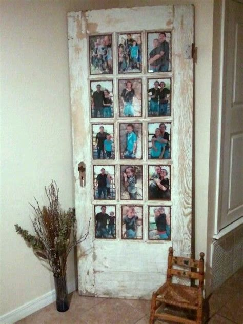 33 stunning picture framing ideas your home is crying out for old door picture frame ideas