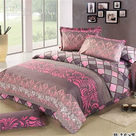 Pink And Grey Bedding Bedroom Ideas Pictures