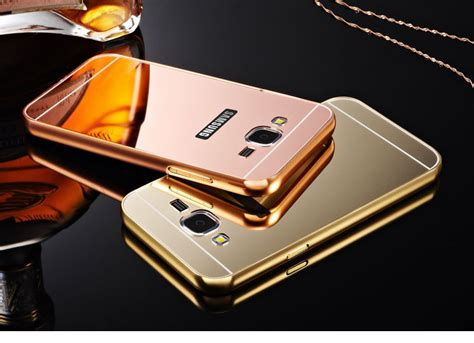 Casing Luxury Bumper Mirror Samsung Galaxy S4 jual bumper plat mirror all type gadget harga