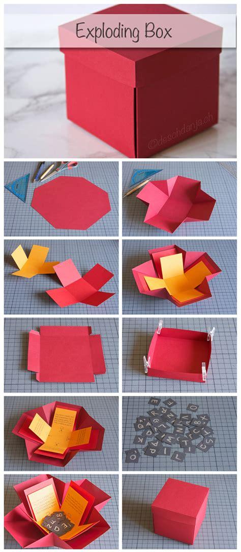 libro kiste exploding box diy fun tips