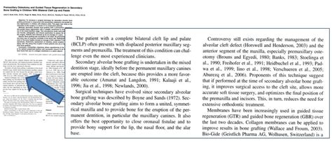 Materials And Methods In Research Paper by Cleft Lip Palate Association