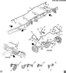Brake Line Diagram For 2002 Avalanche Gm 3100 Engine Repair Manual Gm Free Engine Image For