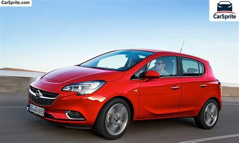 opel corsa price opel corsa 2017 prices and specifications in car