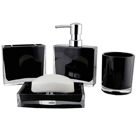 jcpenney bathroom accessories contemporary 4 pc bath accessory set jcpenney