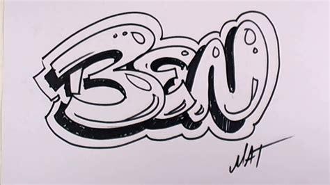 graffiti writing ben  design    names promotion