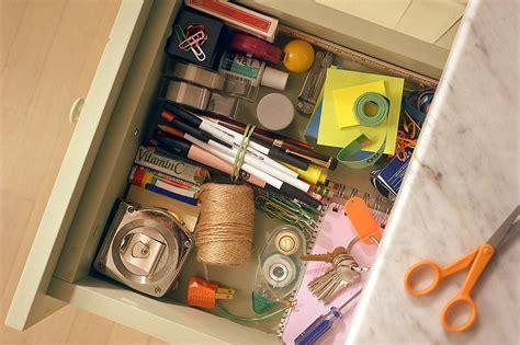 organize  junk drawer   minutes