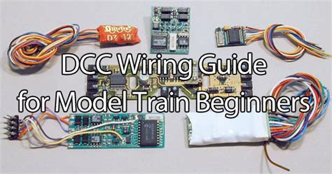 dcc wiring for beginners dcc wiring for model beginners