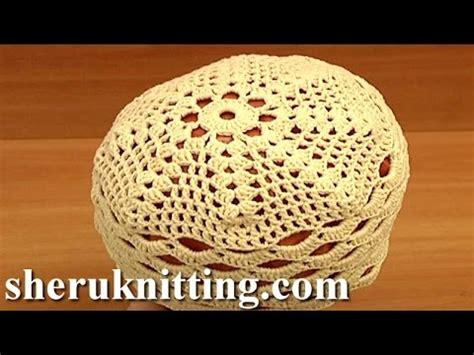crochet easy hat for women tutorial 10 part 1 of 2 crochet summer spring hat for women tutorial 10 part 2 of