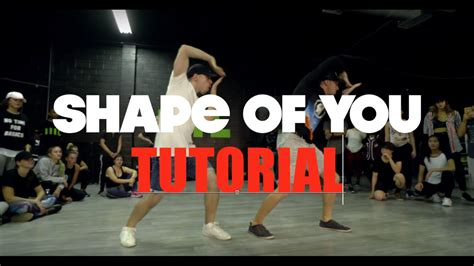 dance tutorial f x quot shape of you quot ed sheeran dance tutorial matt