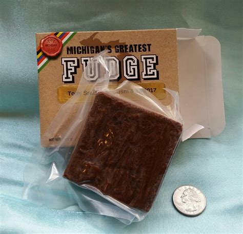 Bar Mitzvah Giveaways - fudge bar mitzvah favors