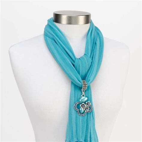 how to make jewelry scarves best 25 scarf jewelry ideas on leather