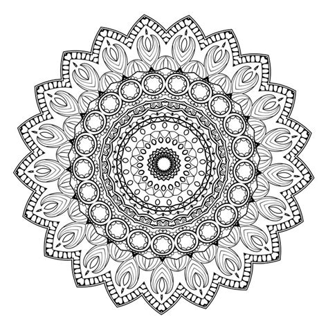 meditative mandala menagerie an advanced coloring book books de 25 bedste id 233 er inden for mandala printable p 229