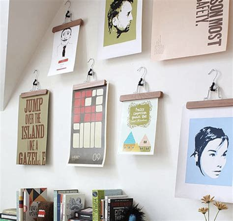 how to hang framed artwork without using nails reader new ways to hang art tiptopgallery s blog