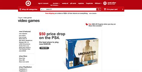 playstation price target suggests 50 ps4 price drop coming in us ign