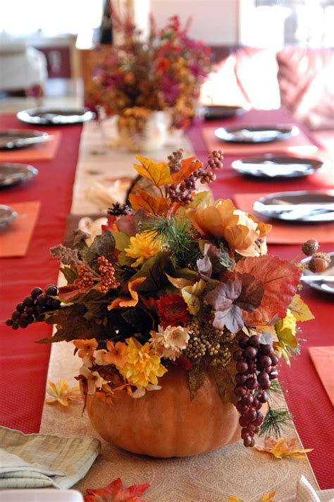 Thanksgiving Decorations Pictures by 55 Beautiful Thanksgiving Table Decor Ideas Digsdigs