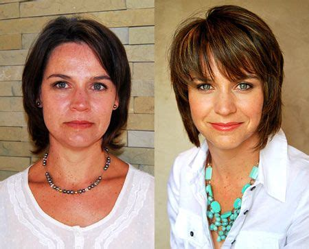 over 50 haircut makeovers 76 best before and after hair transformations images on