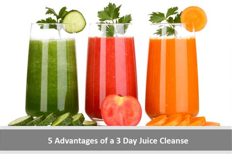 5 Day Detox Juice Cleanse Review by 5 Advantages Of A 3 Day Juice Cleanse Health Guide Reviews