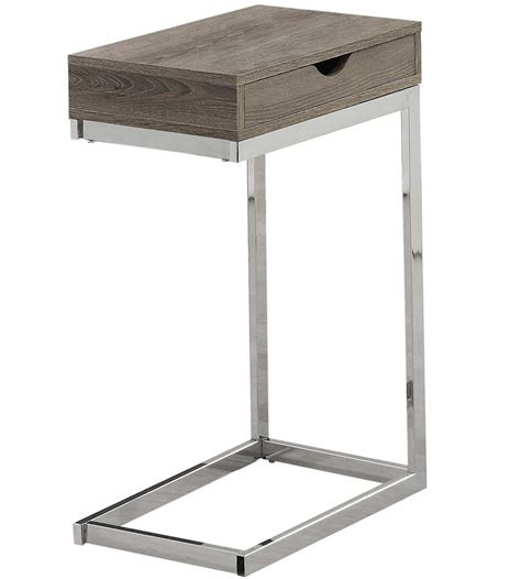 tv tray end table reclaimed look metal end table in tv tray tables