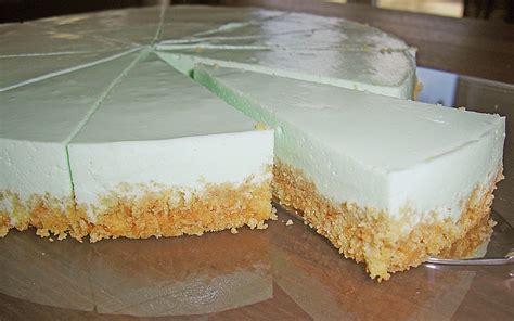 philadelphia kuchen mit götterspeise waldmeister philadelphia torte eik0 chefkoch de