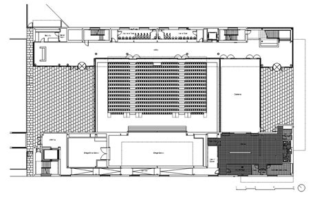 youth center floor plans gallery of the gary comer youth center john ronan