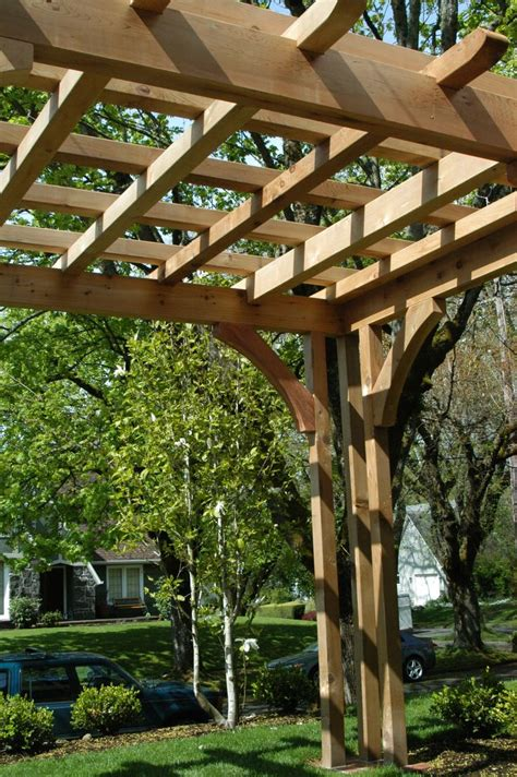 17 Best Images About Outdoor Covered Structures On Cedar Pergola Designs