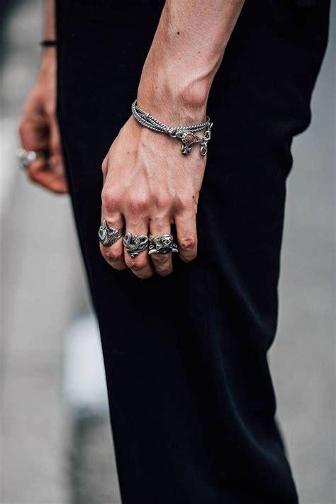 trend report   jewellery trends  men