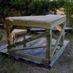 how to make shooting bench woodwork shooting bench design plans pdf plans