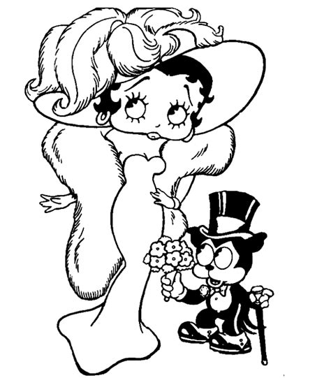 betty boop coloring pages coloring pages to print