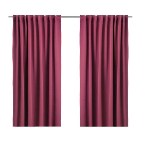 werna curtains werna block out curtains 1 pair ikea