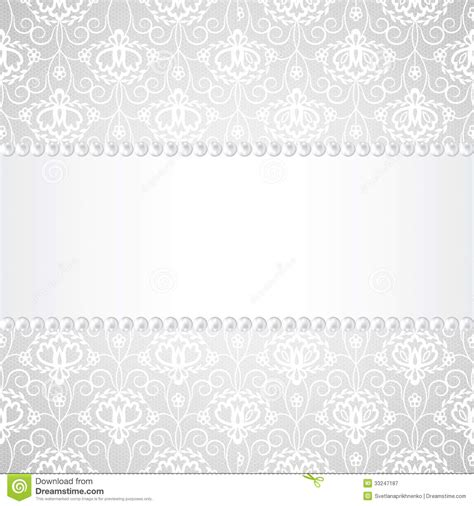 wedding card background templates the gallery for gt vintage lace and pearls background