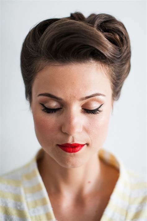 pin up hairstyles for weddings pinup hair hairstyles vintage hair hair styles wedding