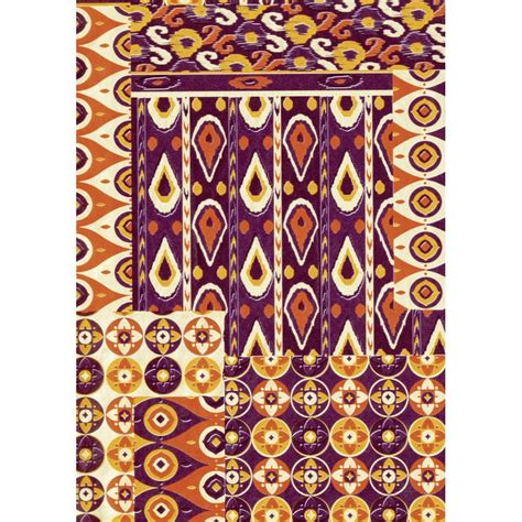 brown pattern sheets decopatch paper 517 half sheet brown patterned