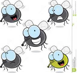 Sandbox Tree Fruit - set of cartoon flies stock vector image 40235979