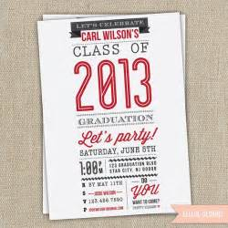 high school college graduation invitation by elleol graduation ideas