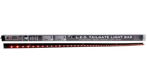 anzo led tailgate light bar anzo 60 inch 4 function led tailgate light bar 531045