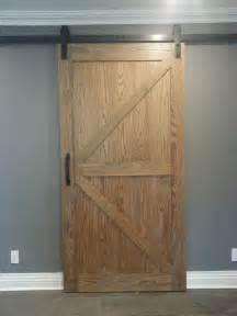 barn door slider handmade distressed oak barn door slider by ajc
