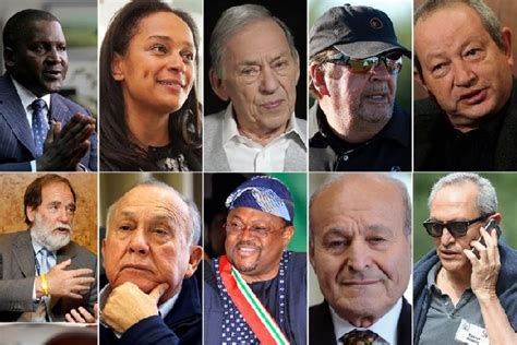 the 10 richest in africa the 10 richest in africa