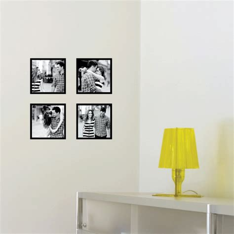 photography wall stickers mini photo square wall decals paper culture