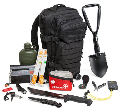 bug out bag thinkgeek