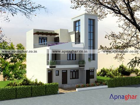 floor plan for modern triplex 3 floor house click on 10 images about apanghar house designs on pinterest