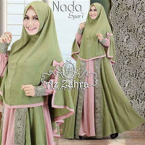 Paling Laris Gamis Syari Sarisa Grey Baju Muslim Modis model gamis syari terbaru bahan 28 images 20 model