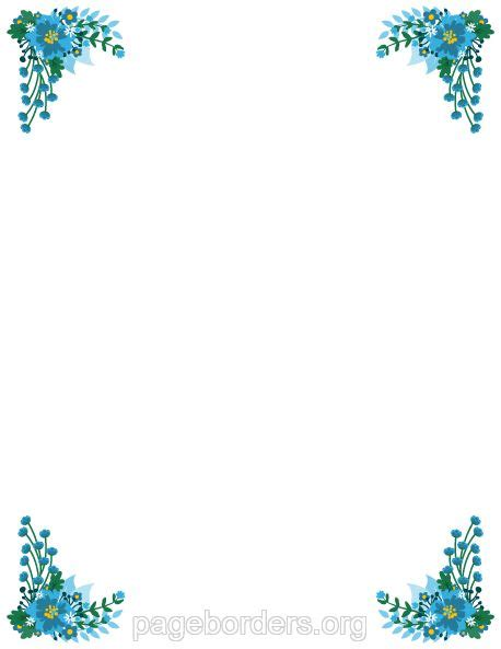 flower border template 758 best page borders and border clip images on
