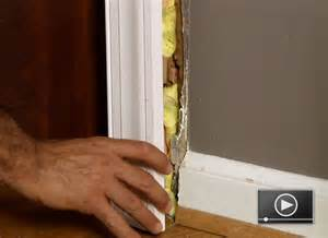 how to install door casing buildipedia