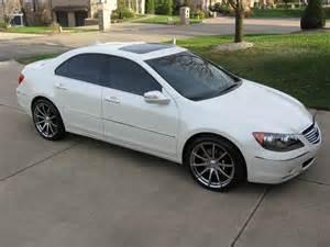 2006 Acura Rl Wheels 2006 Acura Rl Sh Awd 19 000 Pearl White And