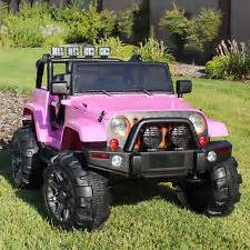 Pink Power Wheels Jeep Power Wheels Truck Toys Hobbies Ebay