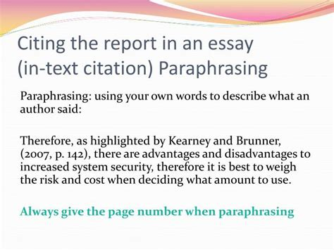 Citing In An Essay by Odyssey Thesis Essay Dijck Info