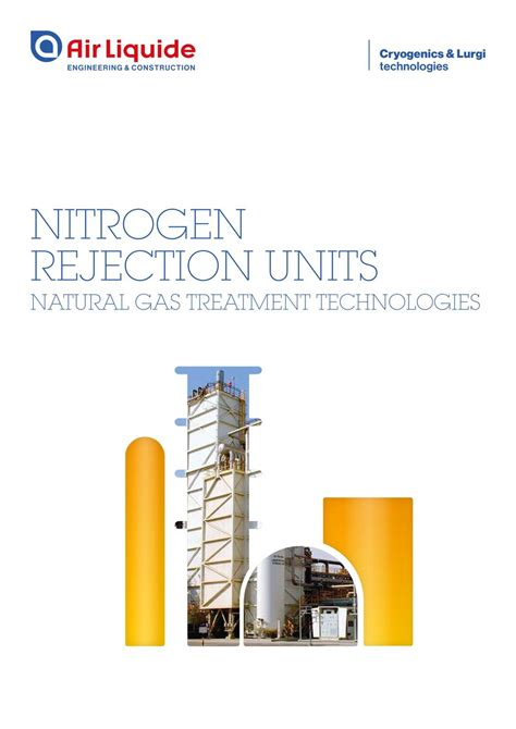 nitrogen rejection units natural gas treatment technologies air liquide