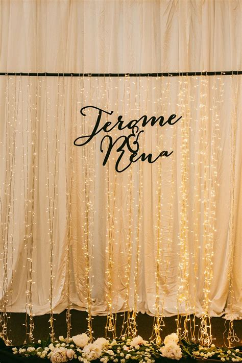 wedding backdrop with lights wedding backdrop with lights photo by samuel