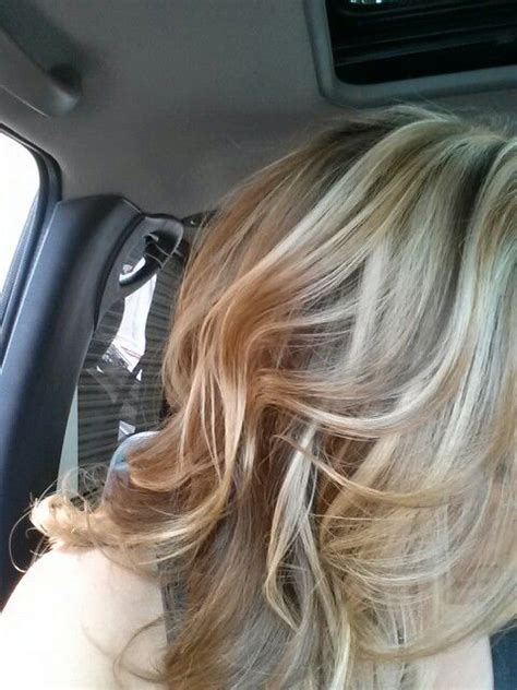 carmel and blonde highligh pictures blonde caramel highlights hair makeup pinterest